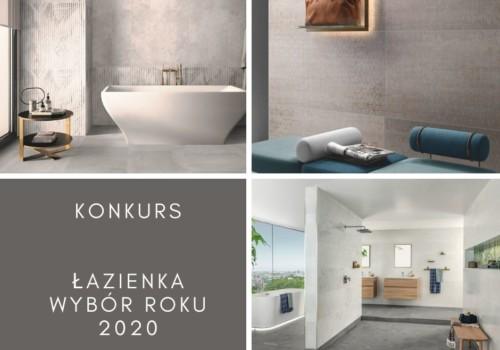 Łazienka – Wybór Roku 2020